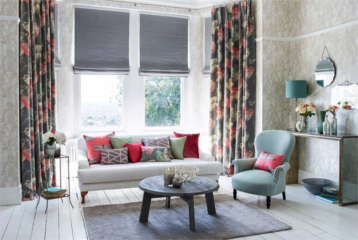 Bay Window Curtain Solutions Curtains Amp Blinds For Large